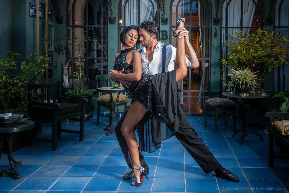 Tango. Marcos Ayala and Paola Camacho