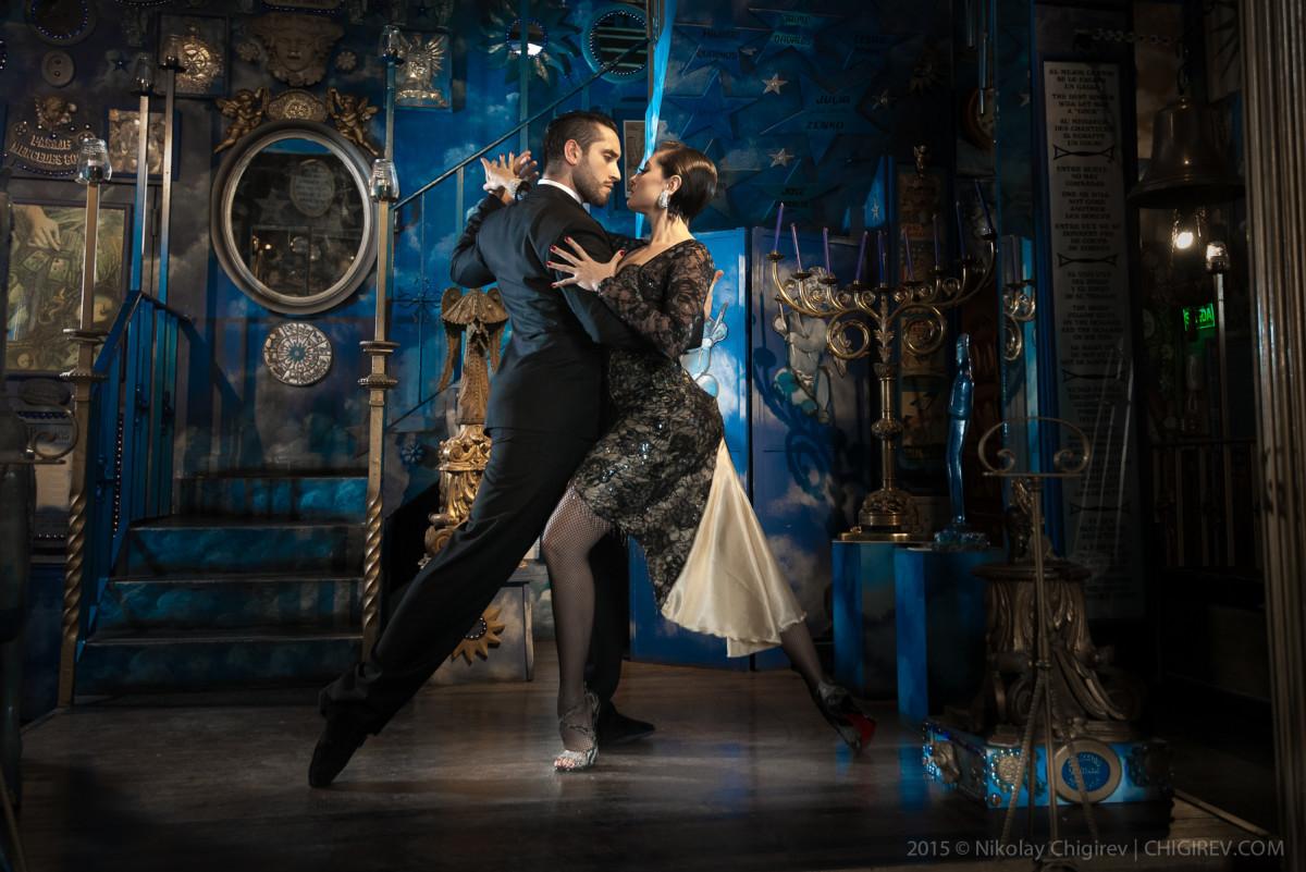 Tango. Nicolas Schell and Nair Schinca